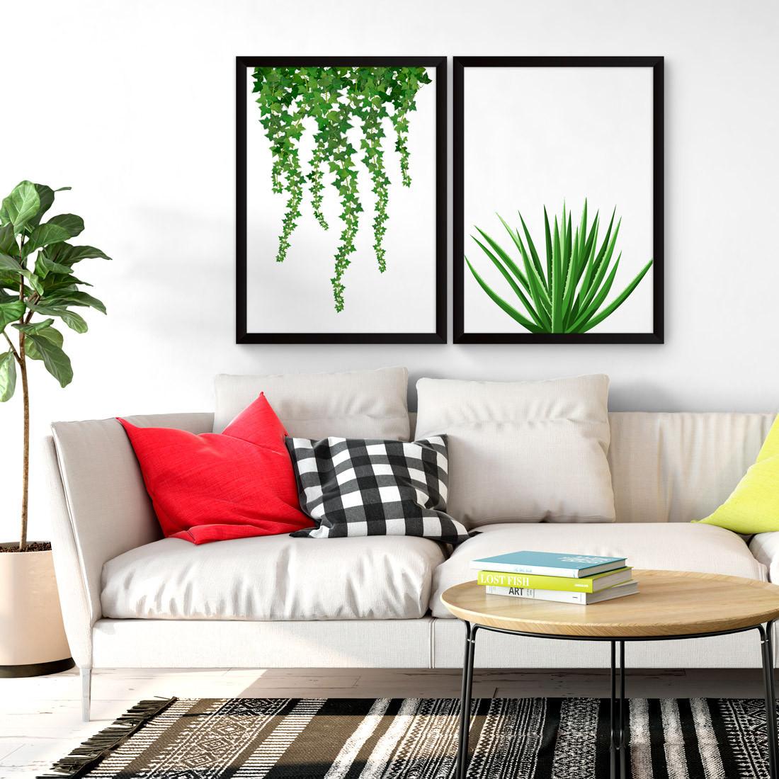 Quadros Decorativos Plantas Opostas