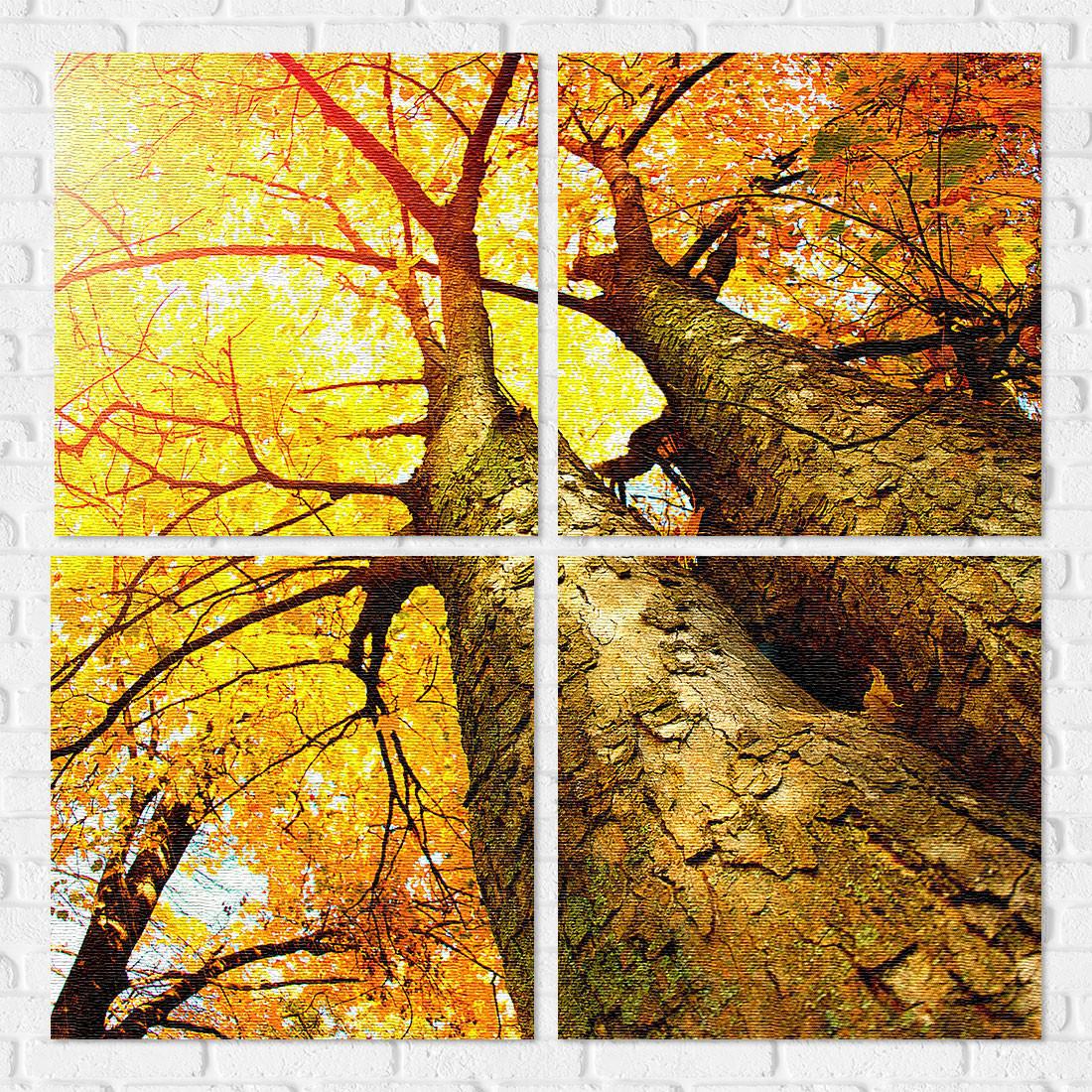 <div>Conjunto de Quadros Decorativos Ipê Amarelo. Conjunto composto por 4 telas com impressão de alta resolução em canvas.</div>