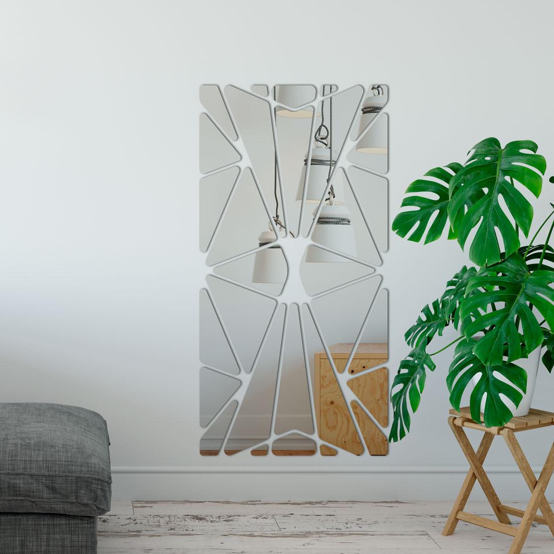 Espelho Decorativo Abstrato