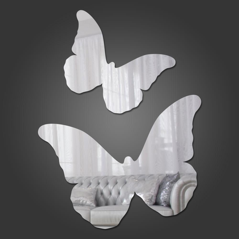 Espelho Decorativo Borboletas III