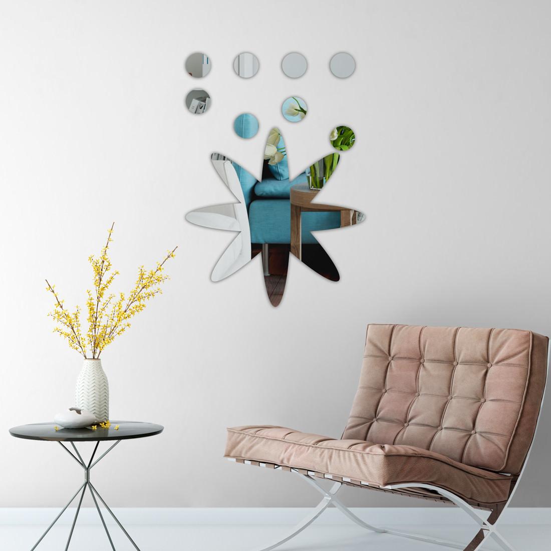 Espelho Decorativo Átomo