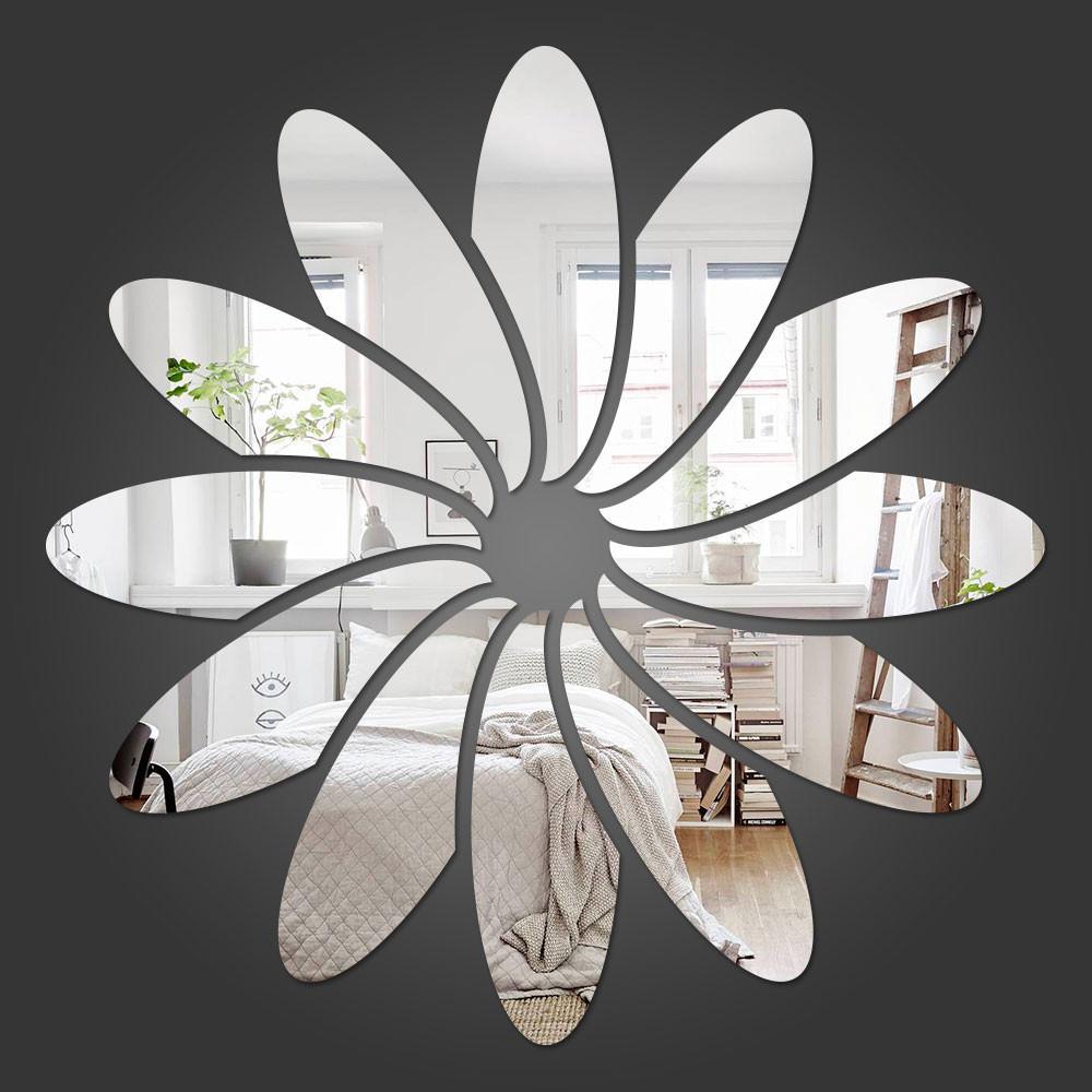 Espelho Decorativo Flor