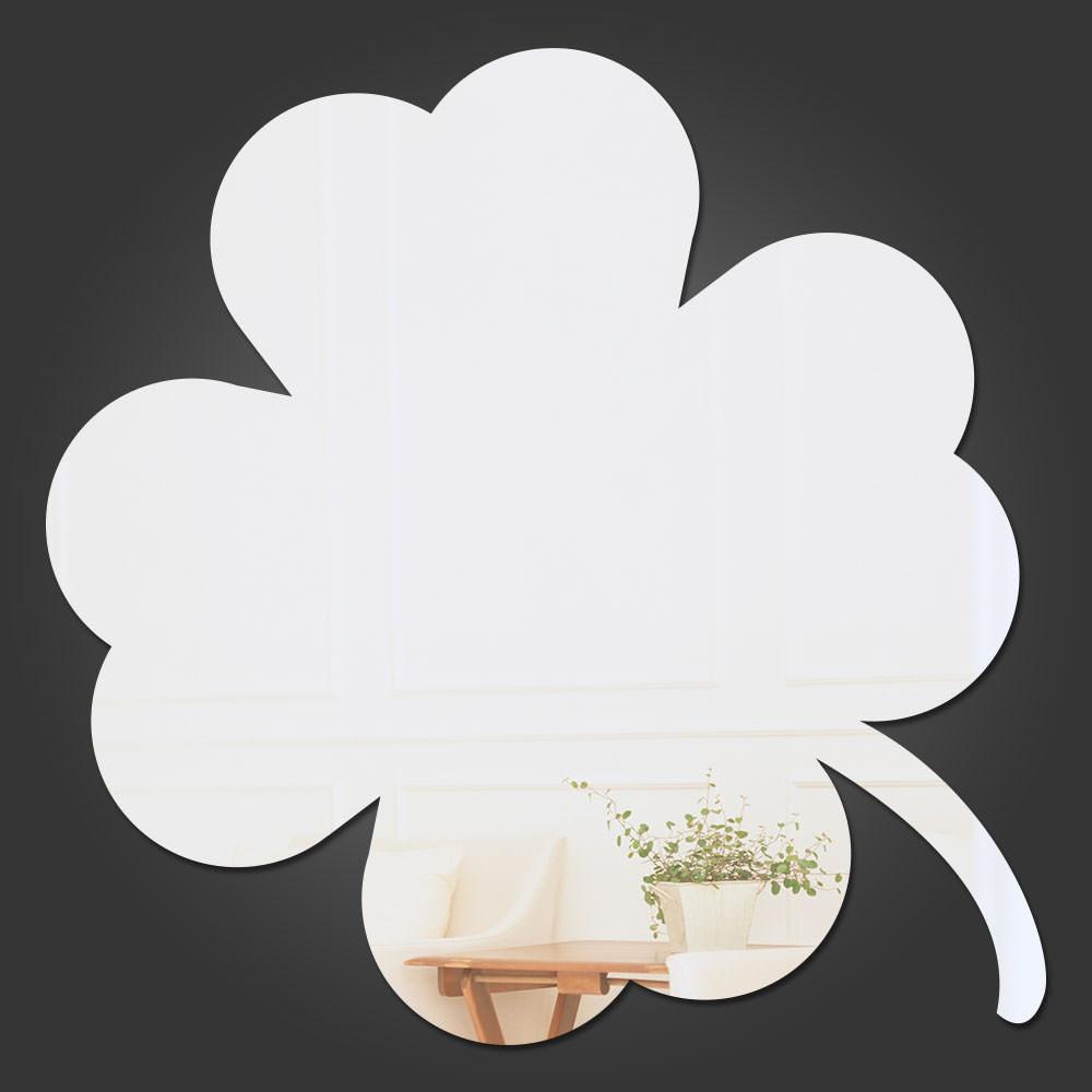 Espelho Decorativo Trevo de Quatro Folhas