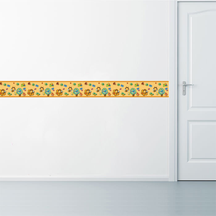 Faixa Decorativa Abelhinhas Aplicação