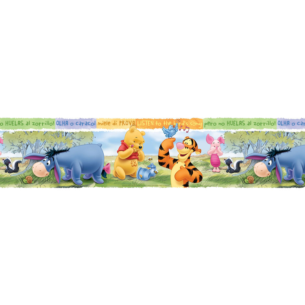 Faixa Decorativa Infantil Ursinho Pooh - Disney