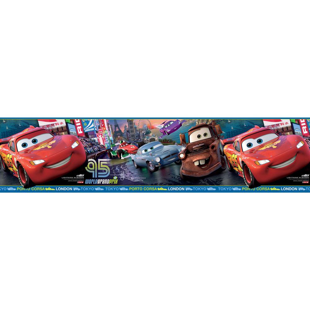 Faixa Decorativa Infantil Carros - Disney