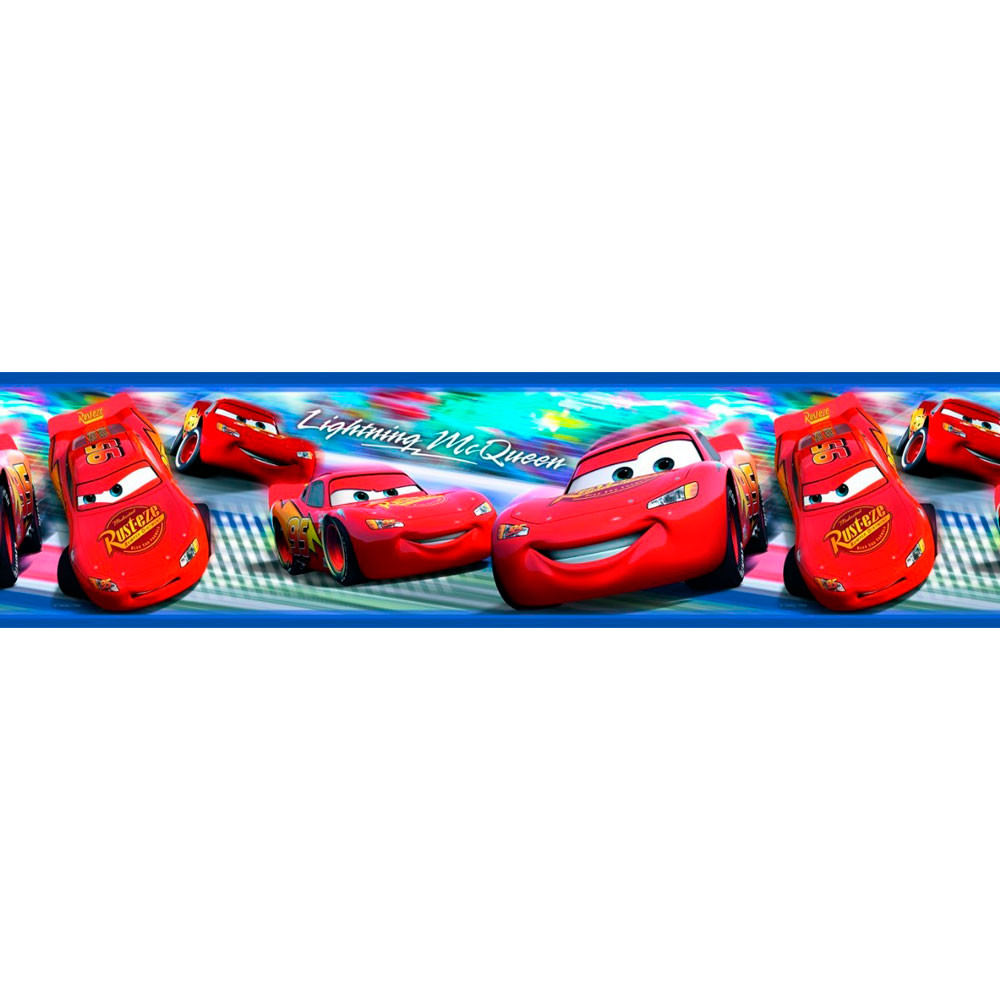 Faixa Decorativa Infantil Carros Relâmpago Mcqueen - Disney
