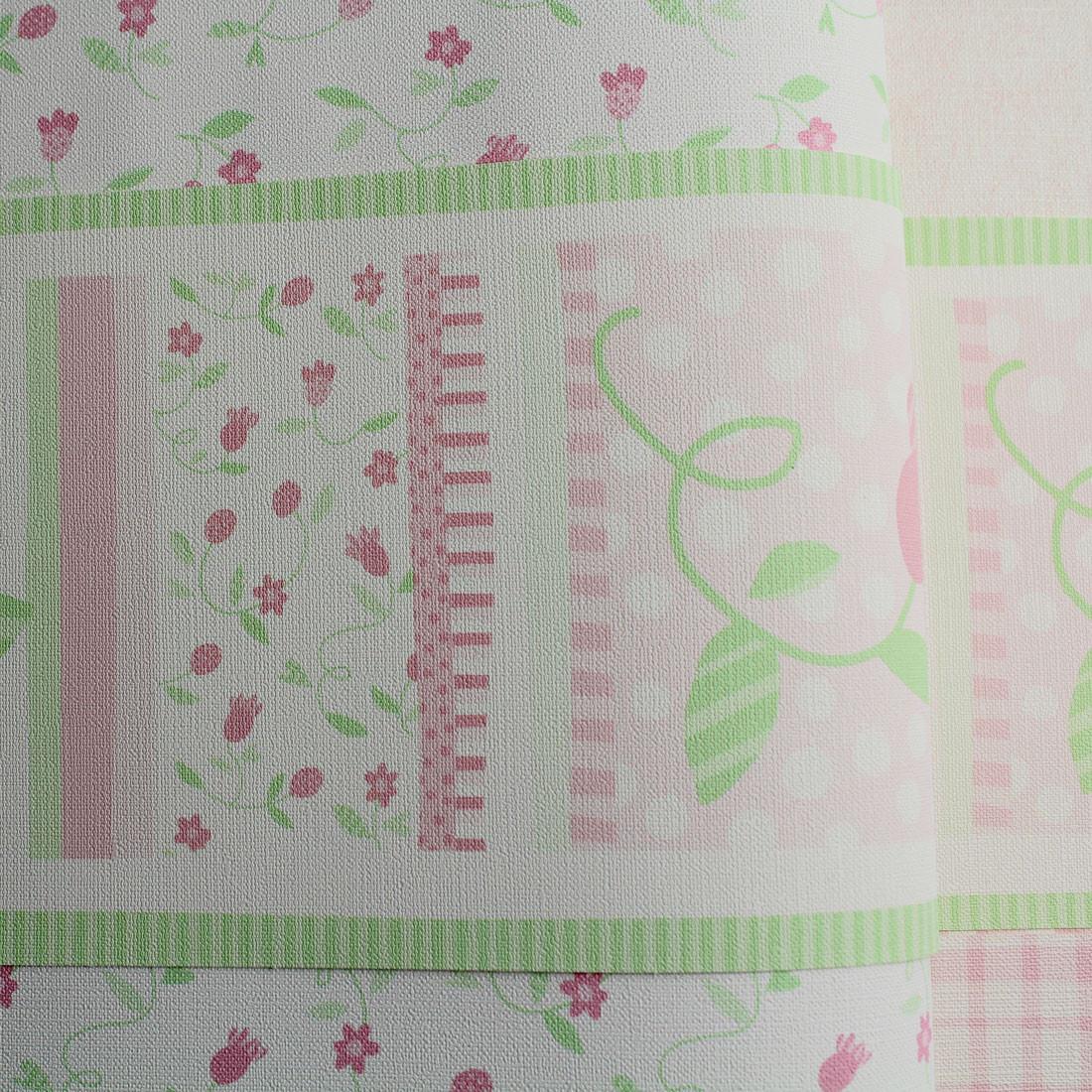 Faixa Decorativa Infantil Floral Delicado - Nido