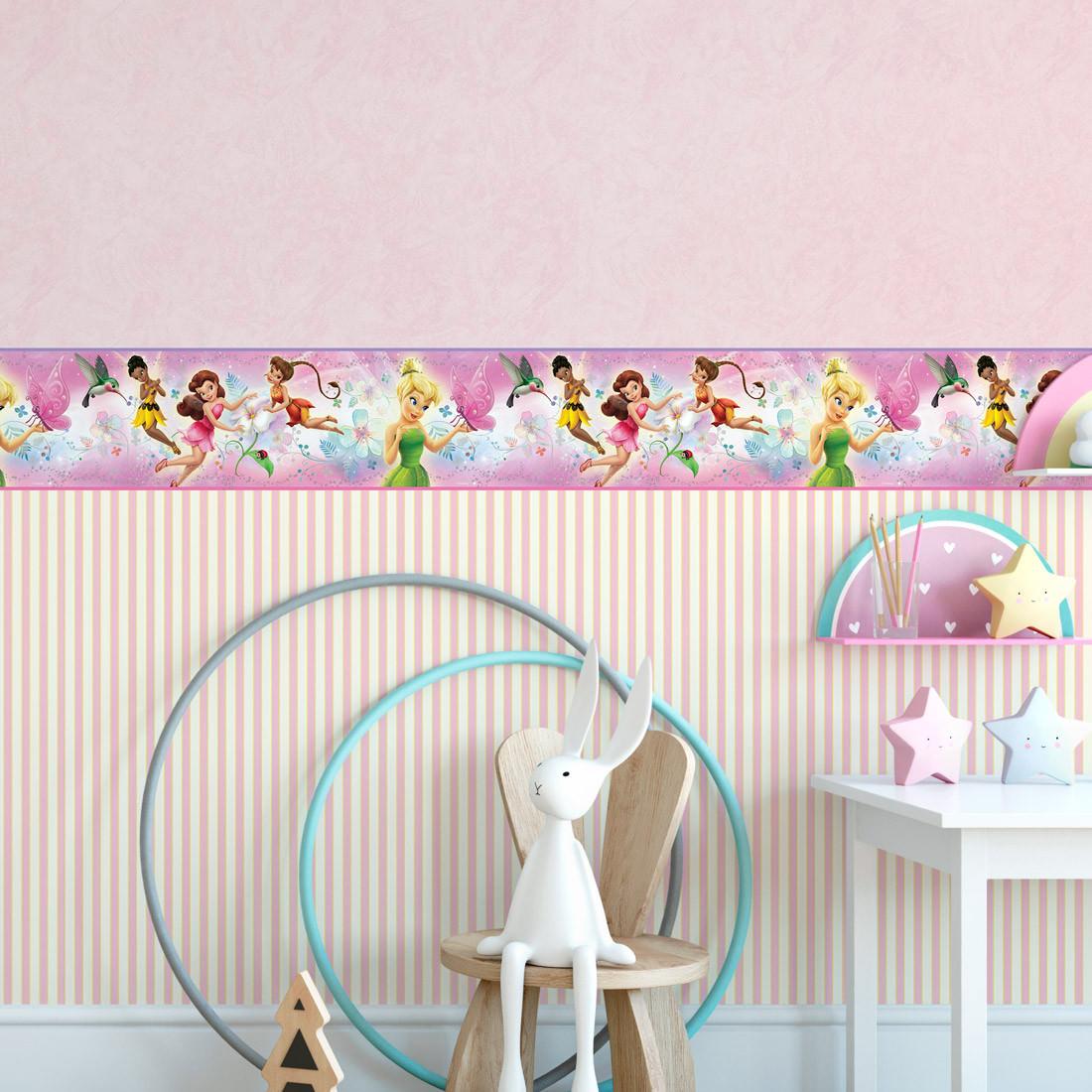 Faixa Decorativa Infantil Fadinhas - Disney
