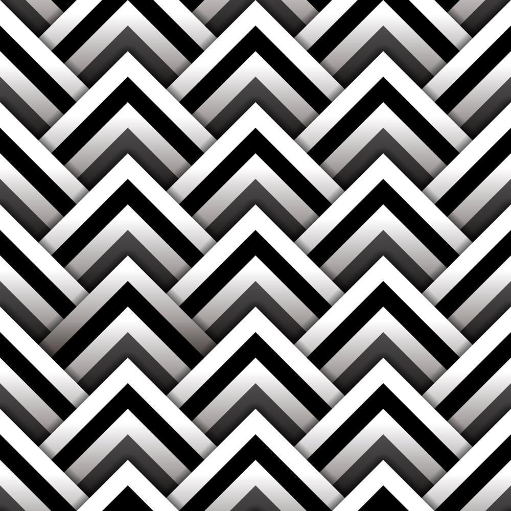 Papel de Parede Abstrato 3D Triângulos