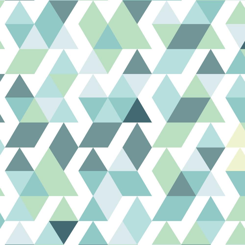 Papel de Parede Abstrato Triângulos