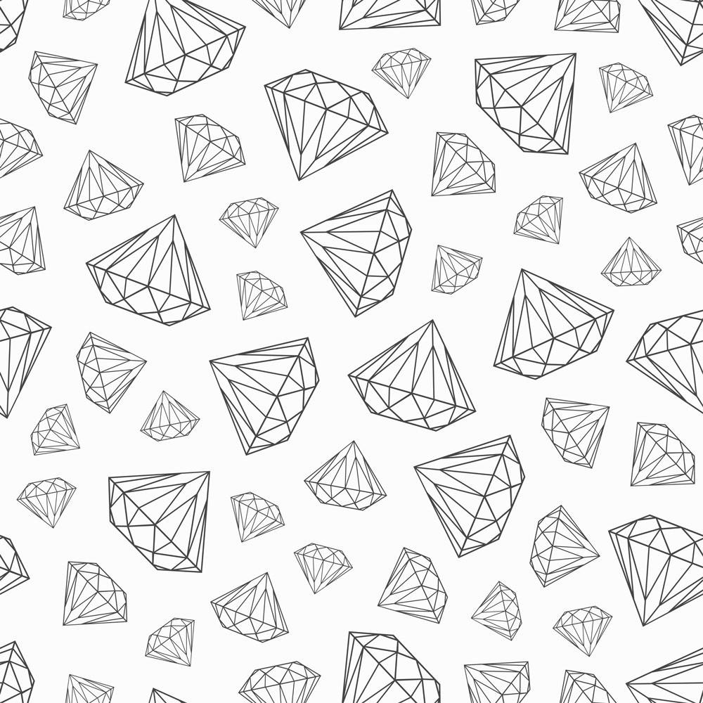 Papel de Parede Diamantes