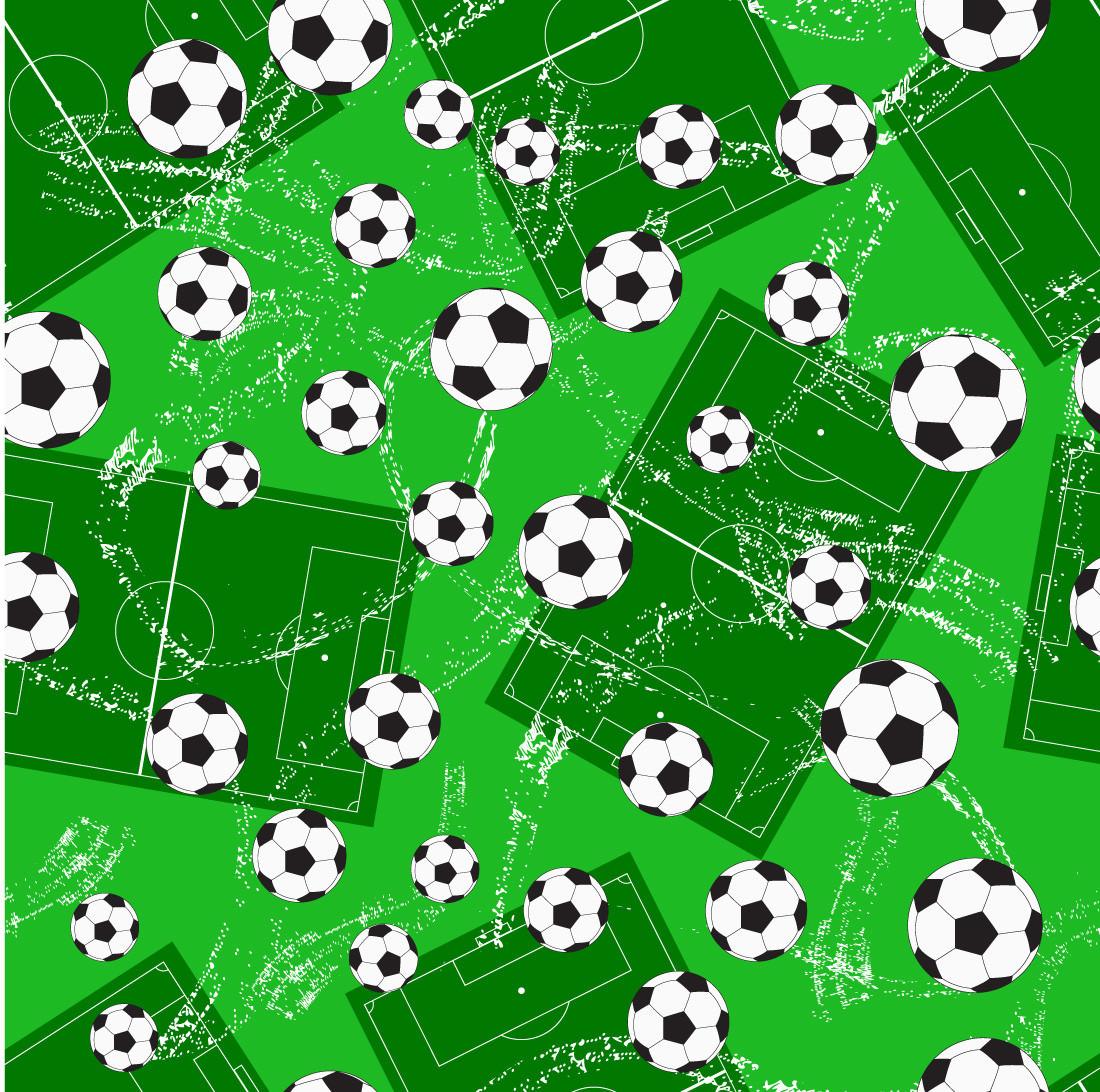 Papel de Parede Campo e Bola de Futebol
