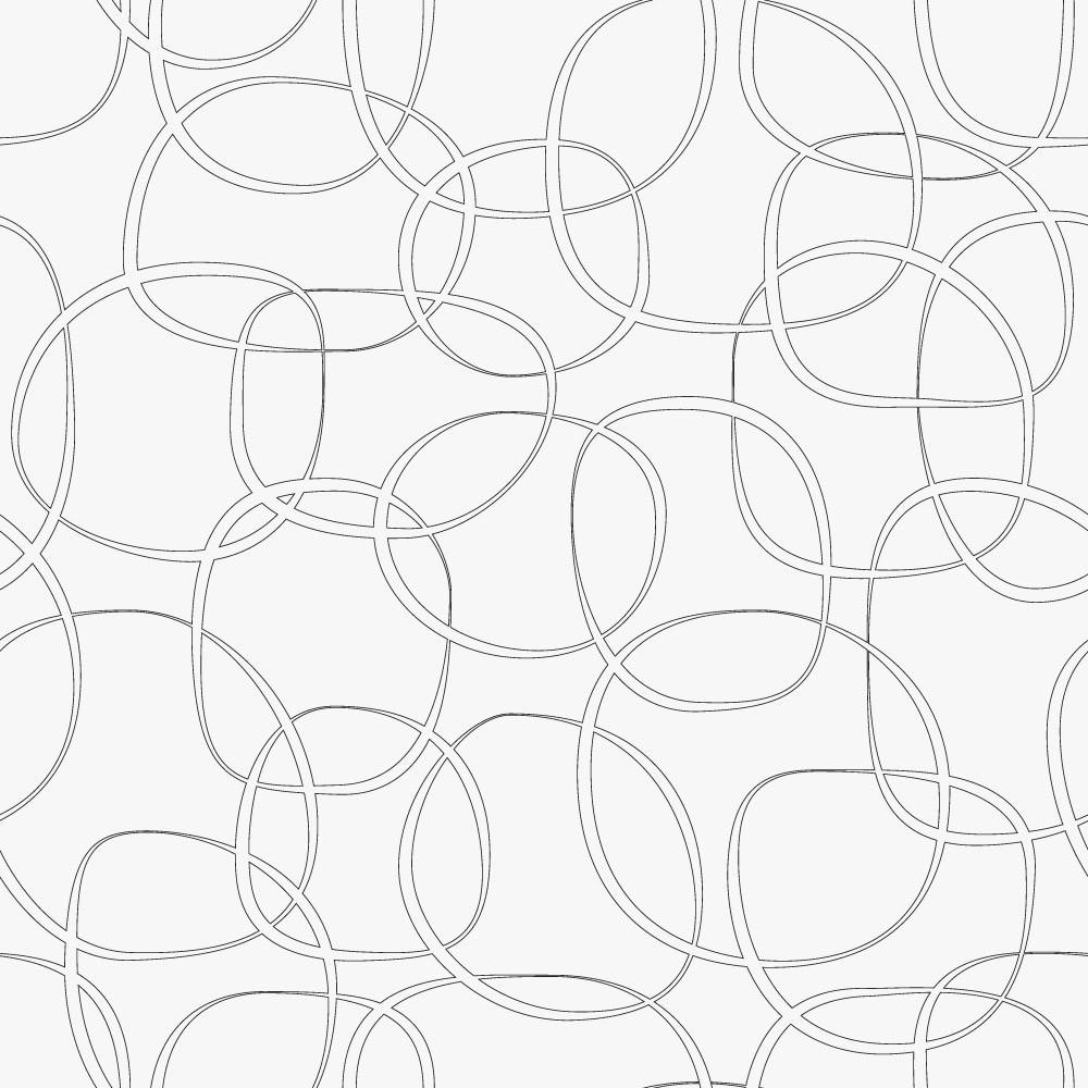 Papel de Parede Geométrico Abstrato Círculos