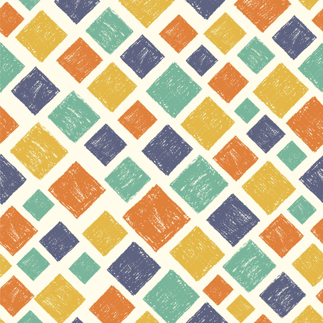 Papel de Parede Losangos Coloridos