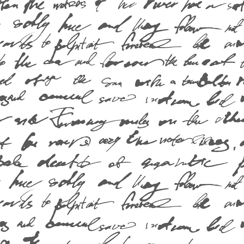 "Papel de Parede ""Manuscrito"""