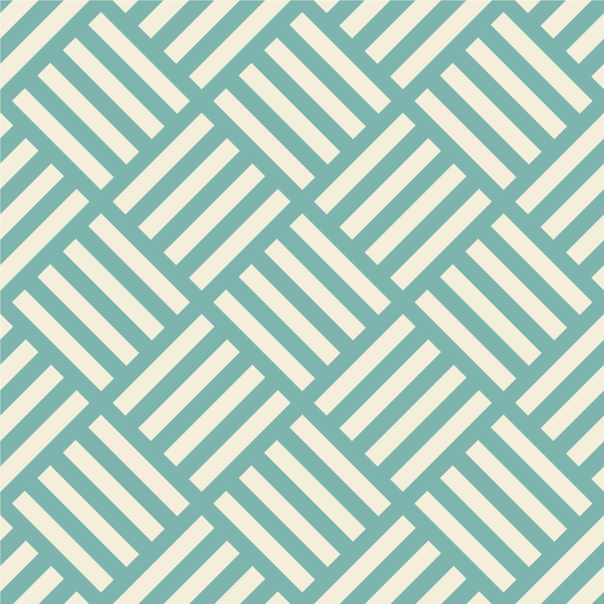 Papel de Parede Quadrados Abstratos (Verde)