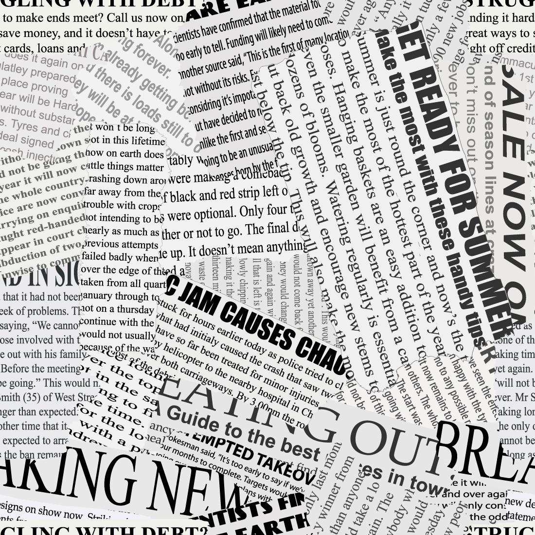 Papel de Parede Jornal