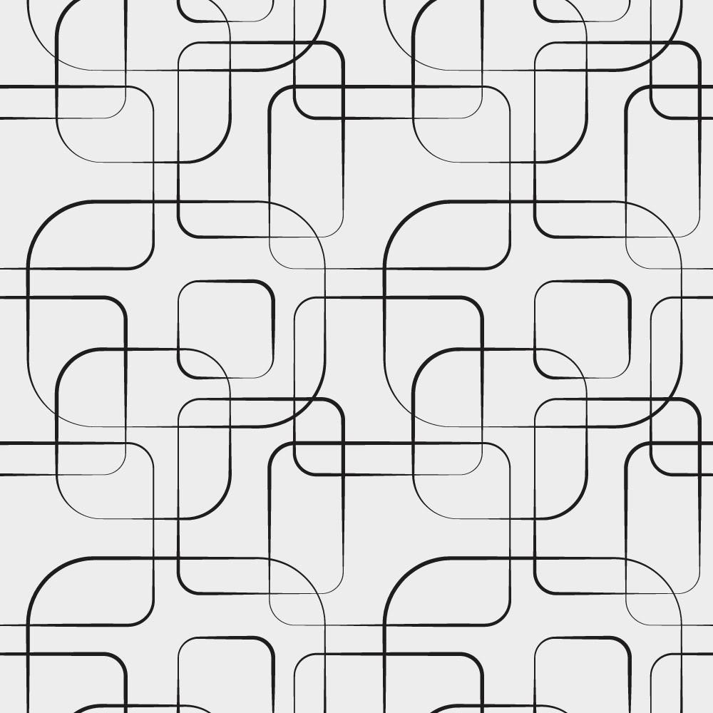 Papel de Parede Linhas Abstratas Geométricas