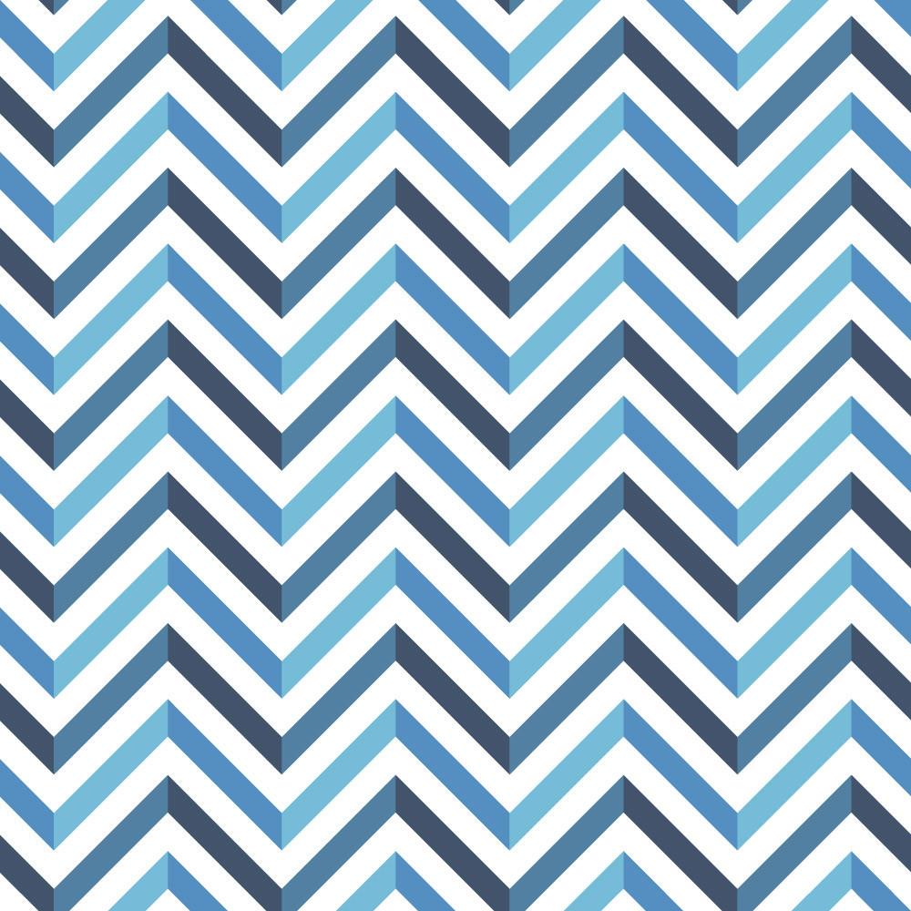 Papel de parede chevron azul bemcolar adesivos de parede for Papel decorativo azul