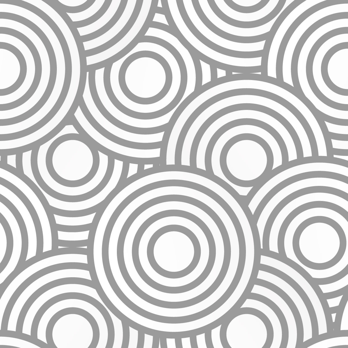 Papel de Parede Abstrato Círculos