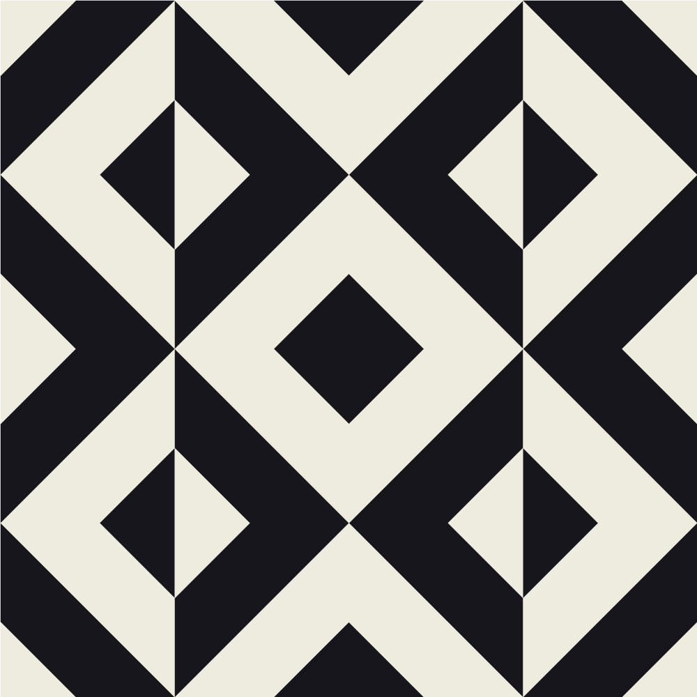 Papel de Parede Estampa Geométrica (Losango)