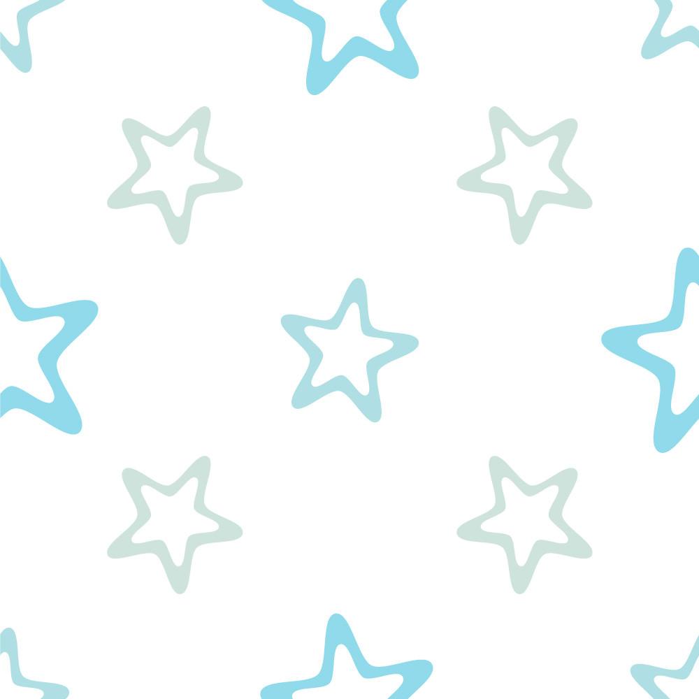 Papel de Parede Infantil Estrelas