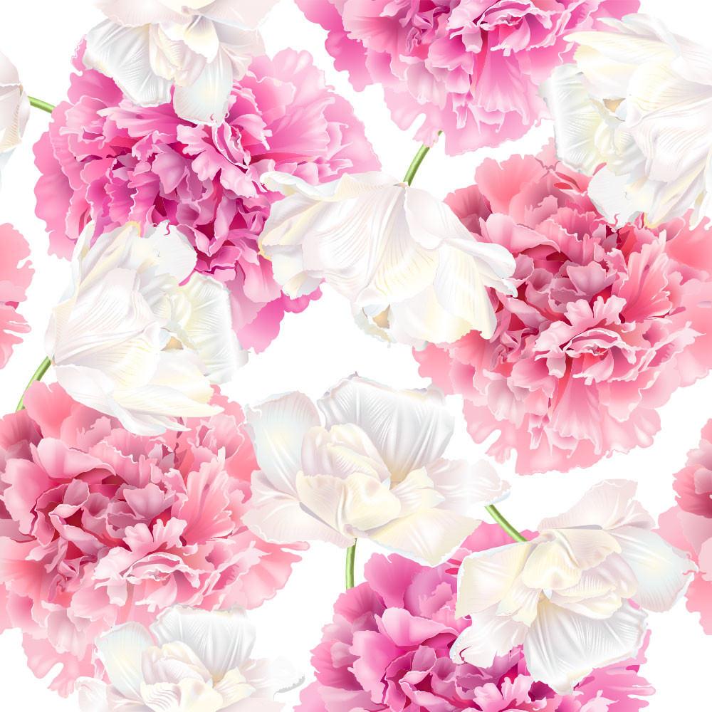 Papel de Parede Estampa de Rosas