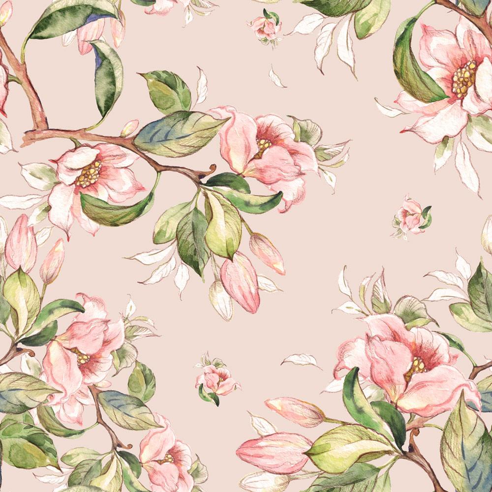 Papel de Parede Floral Alstroméria