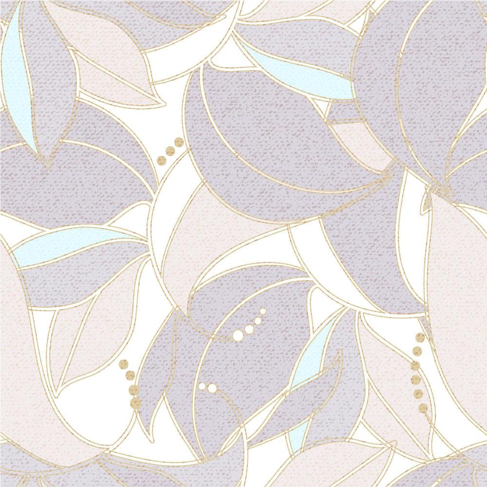 Papel de Parede Folhagem Abstrata Floral