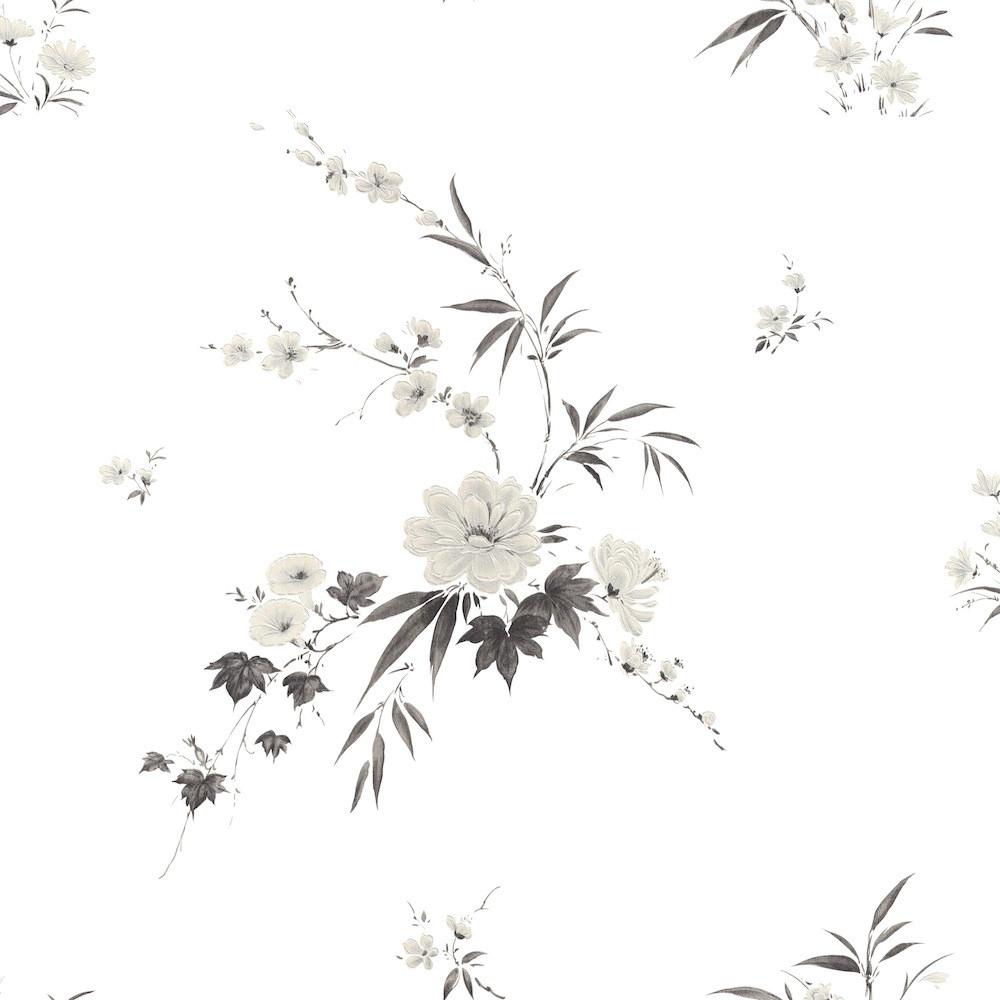 Papel de Parede Floral Delicado - Tons Pasteis