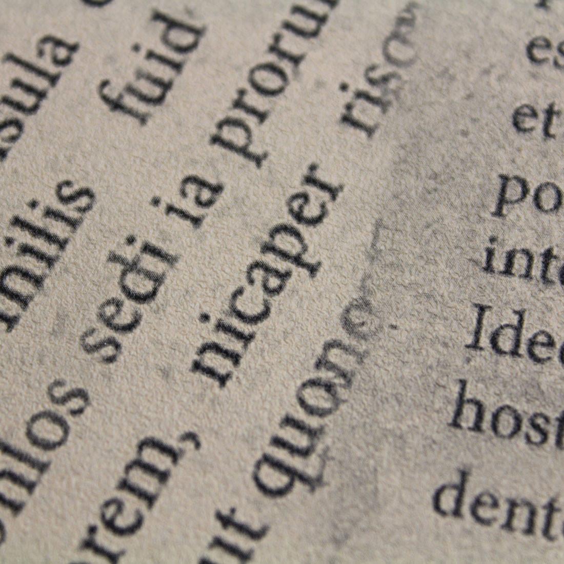 Papel de Parede Muresco Allegra Recortes de Jornal Textura
