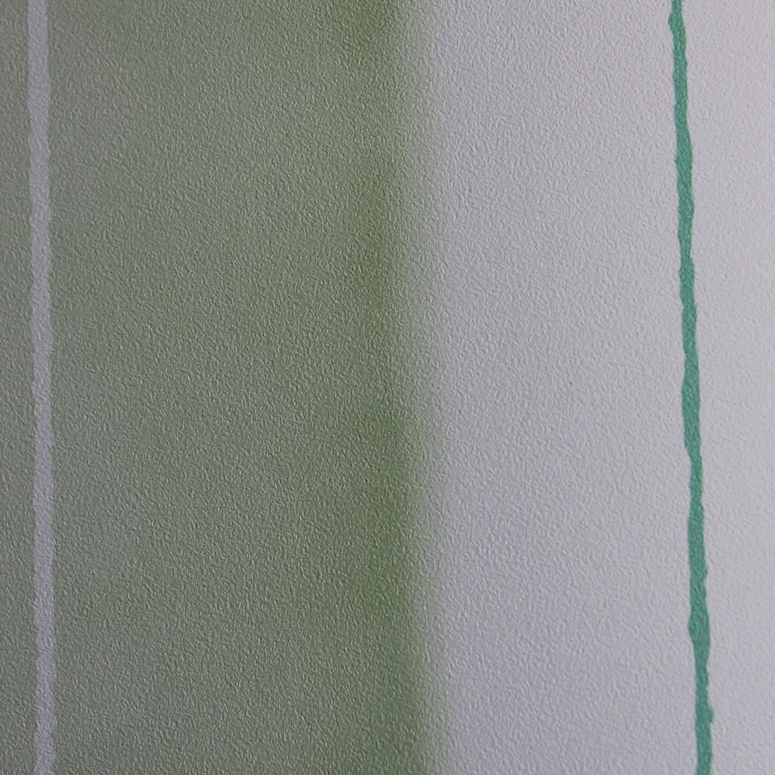 Papel de Parede Muresco Allegra Listras Assimétricas Verde Textura