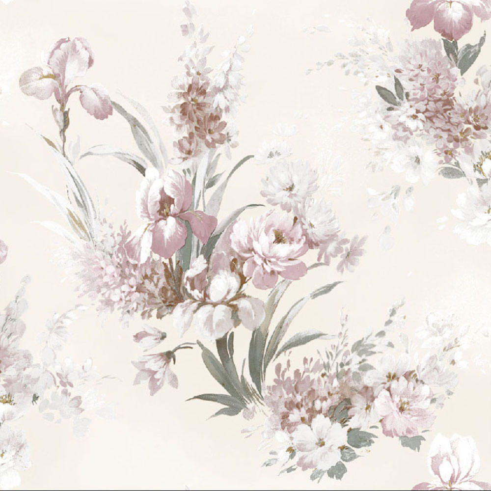 Papel de Parede Floral - Coruim