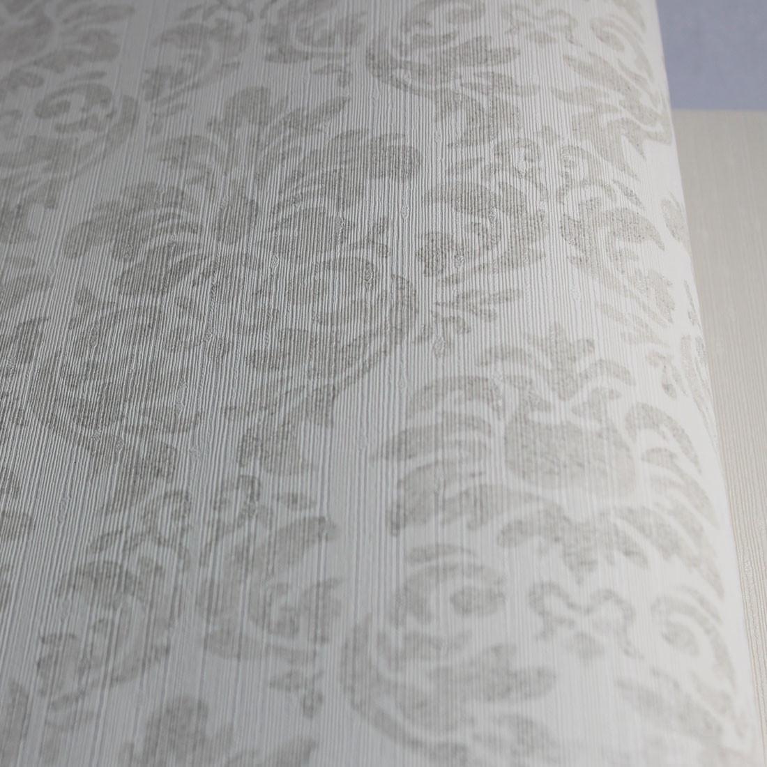 Papel de Parede Muresco Corium Arabesco Bege Texturizado