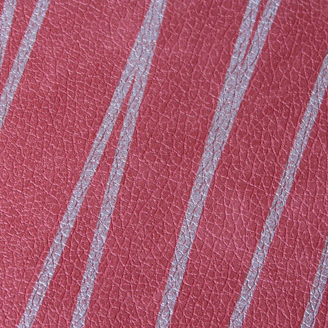 Papel de Parede Muresco Corium Linha Prata fundo Vermelho