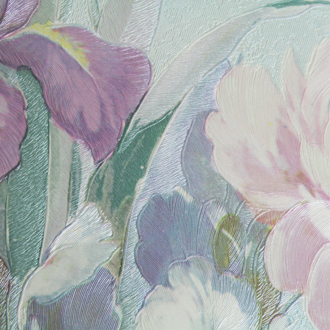 Papel de Parede Muresco Floral Azul