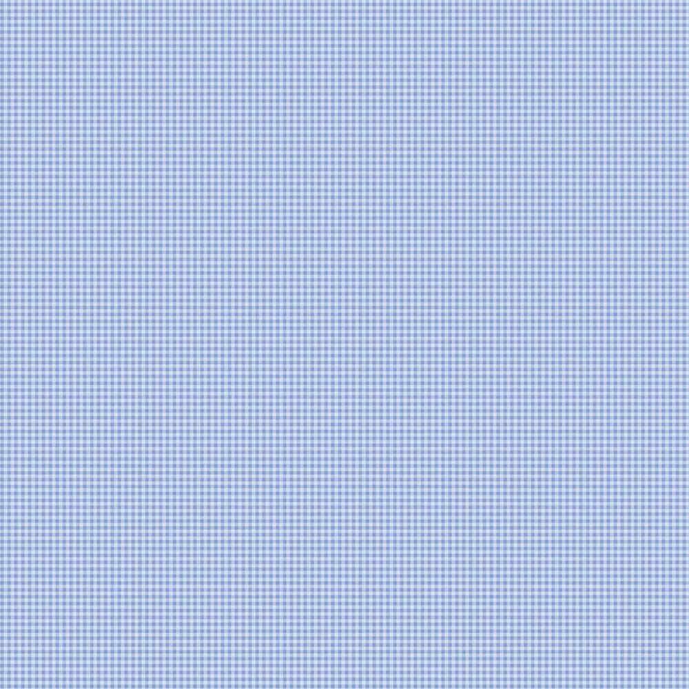 Papel de Parede Xadrez Azul - Disney