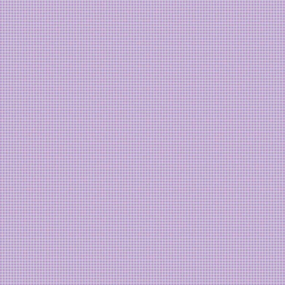 Papel de Parede Xadrez Lilás - Disney