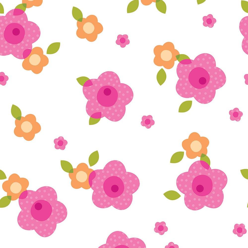 Papel de Parede Flores - Disney