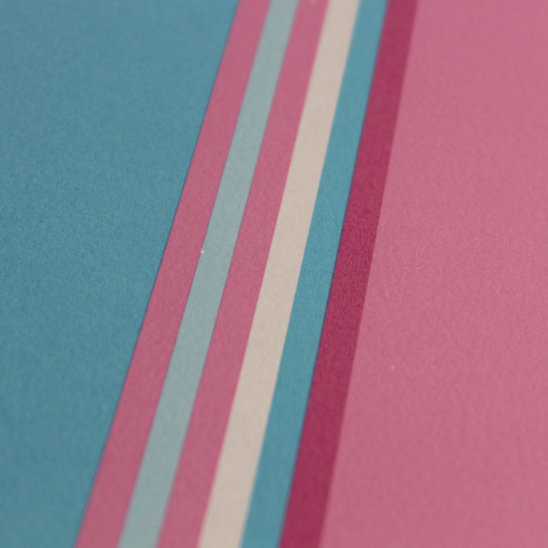 Papel de Parede Infantil Listras - Rosa e Azul - Has#Tag