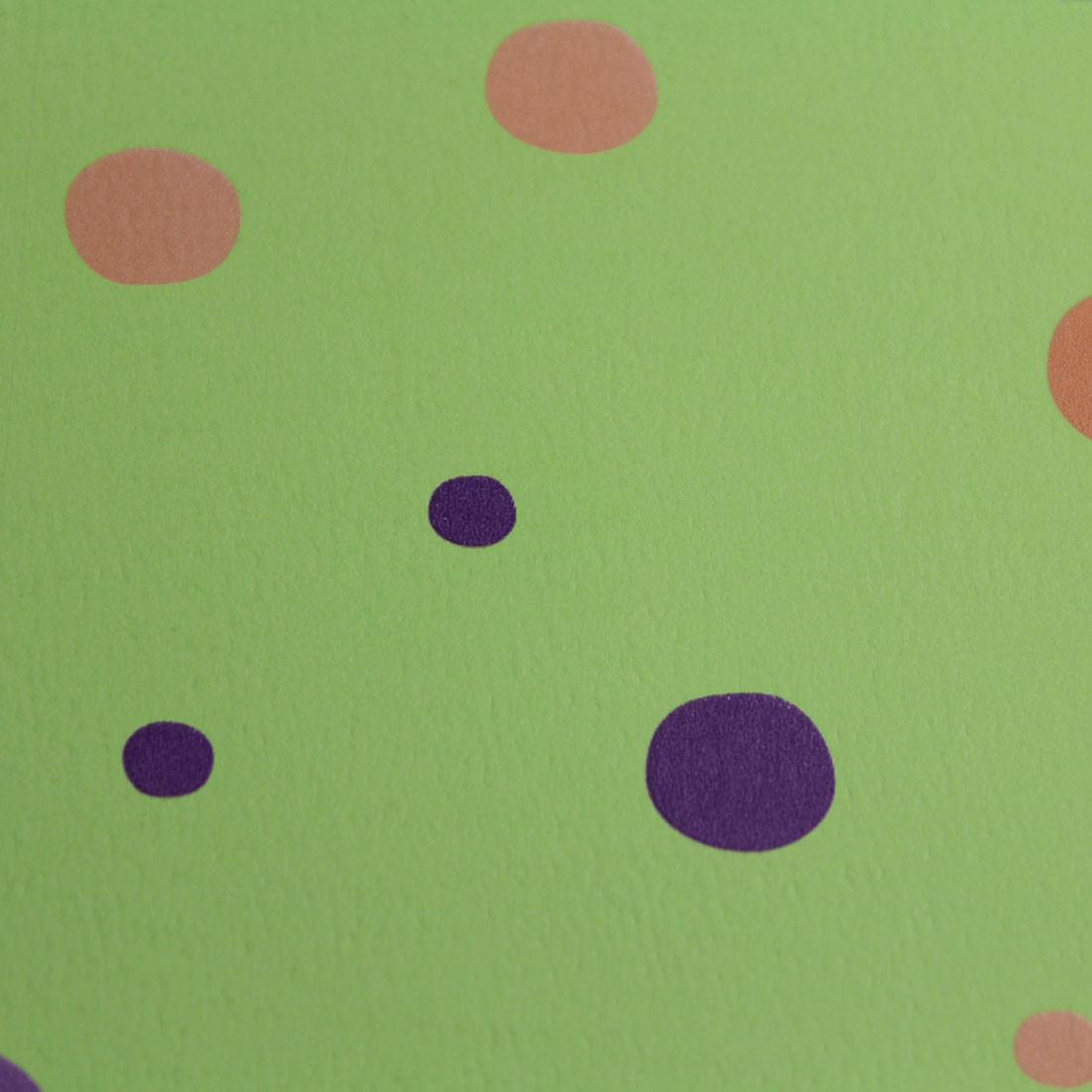 Papel de Parede Infantil Bolinhas Verdes - Has#Tag