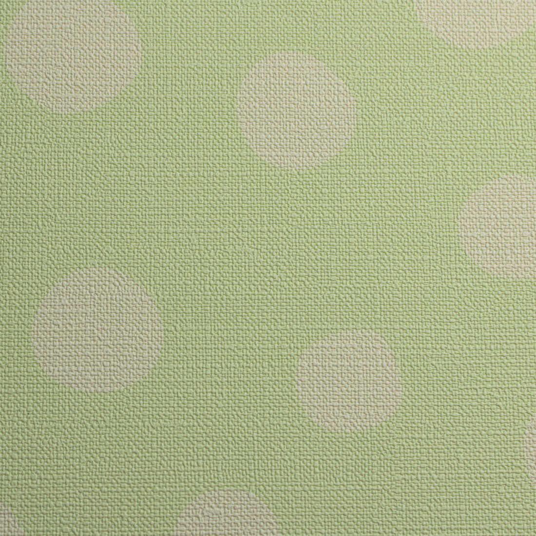 Papel de Parede Infantil Bolinhas Verdes - Nido Textura