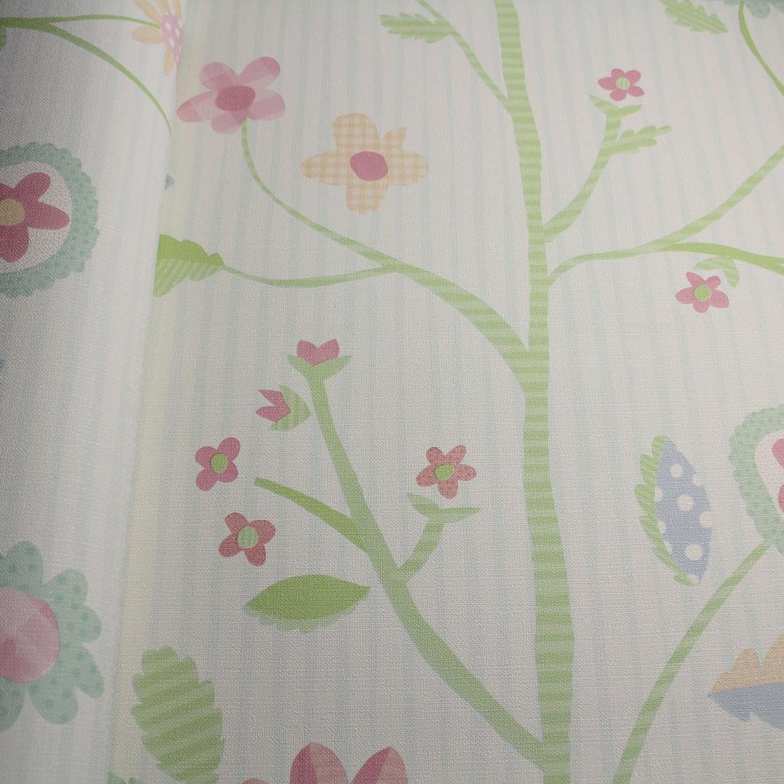 Papel de Parede Muresco Nido Floral Textura
