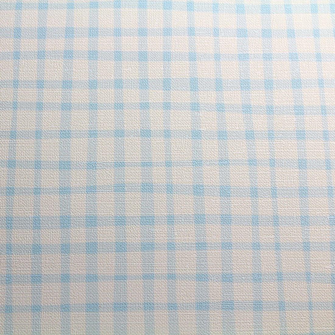 Papel de Parede Muresco Nido Xadrez Azul