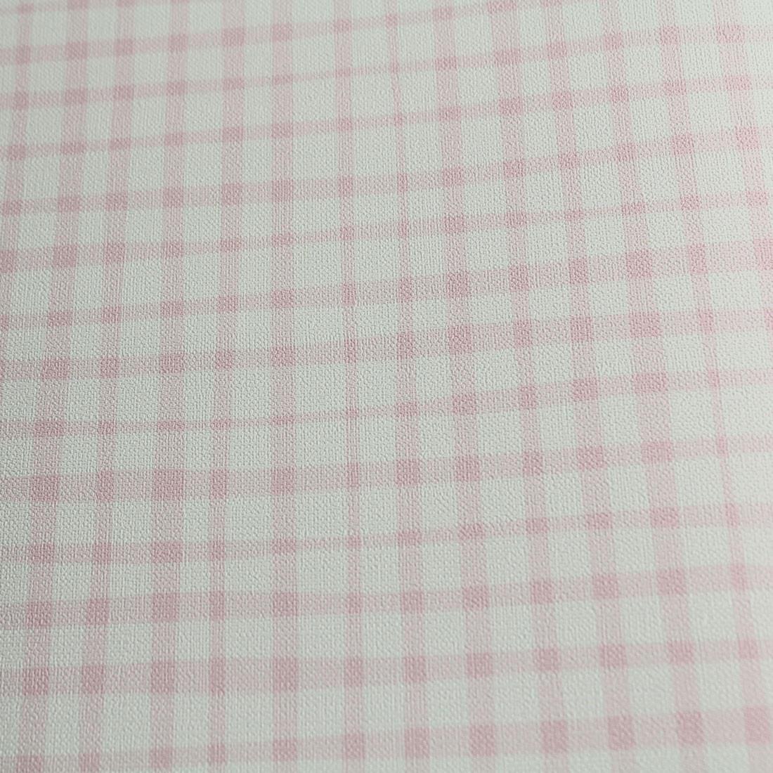 Papel de Parede Muresco Nido Xadrez rosa