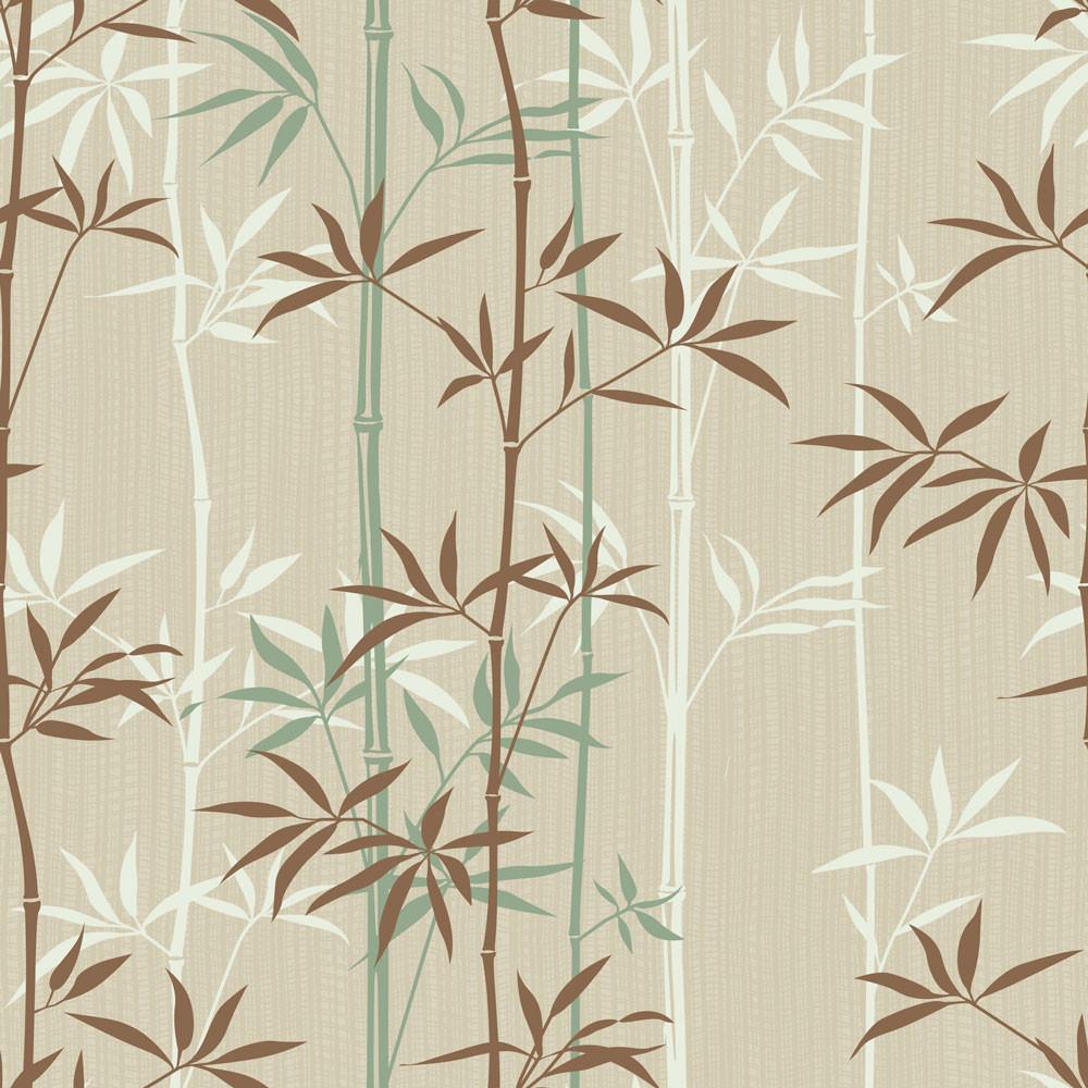Papel de Parede Bambus Retrô
