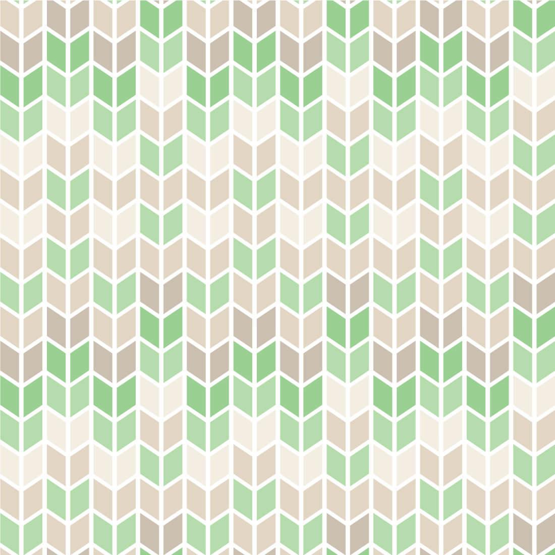 Papel de Parede Infantil setas Verde e Cinza