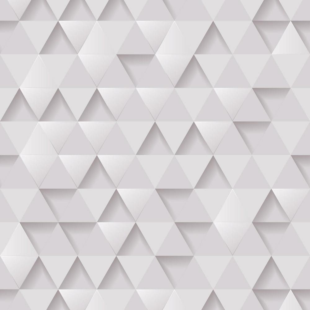 Papel de Parede Triângulos 3D
