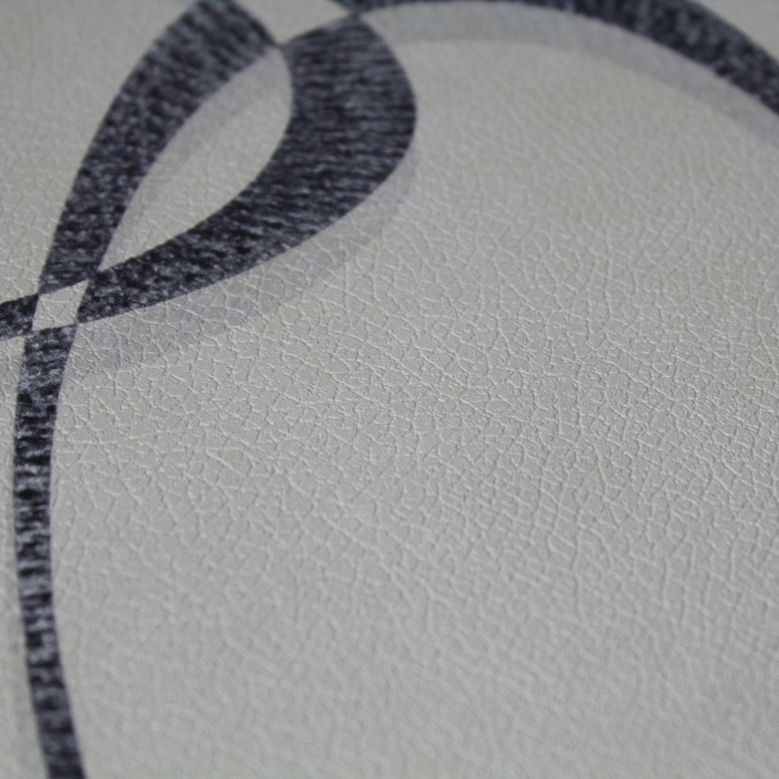 Papel de Parede Muresco Corium Circulos Cinza Texturizado